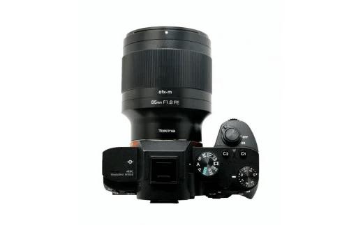 単焦点レンズatx-m 85mm F1.8 FE イメージ