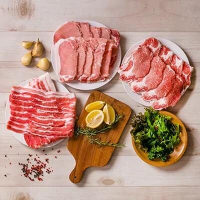 鹿児島県産豚3種類1.5kgセット イメージ