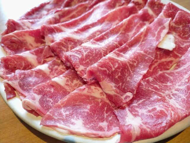 しゃぶしゃぶ用肉 イメージ