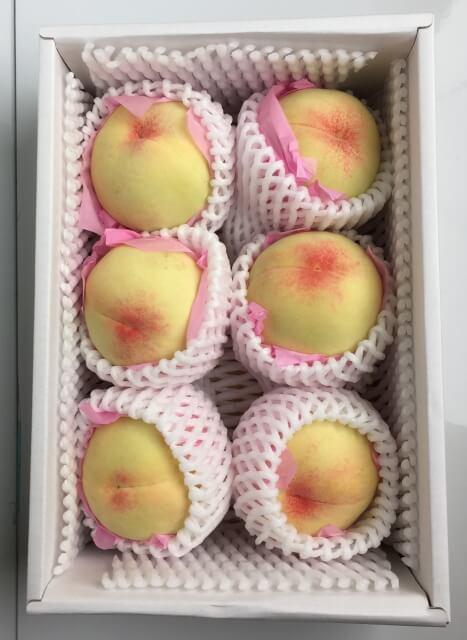 <桃の女王> 岡山県産ブランド桃 清水白桃 3kg(8玉~9玉)