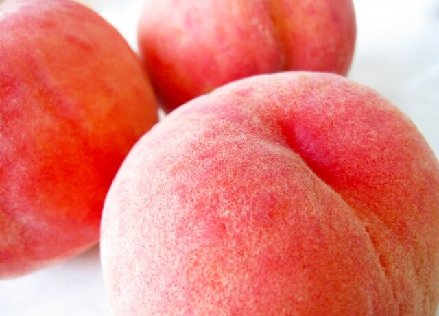 平均糖度12度以上! 朝もぎ直送「桃 白桃系」6~8玉