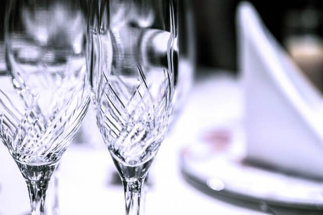 カガミクリスタル社製 ペアワイングラス