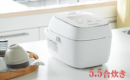 象印圧力IH炊飯ジャー「炎舞炊き」NWPS10-WZ 5.5合炊き 粉雪 イメージ
