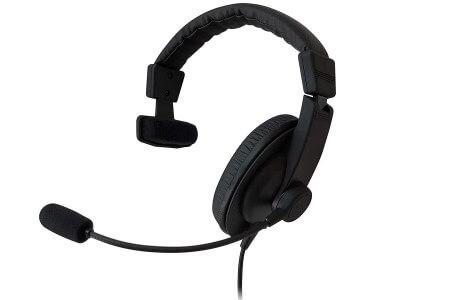 SOUND WARRIOR密閉型片耳ヘッドセット(SW-TR1) イメージ