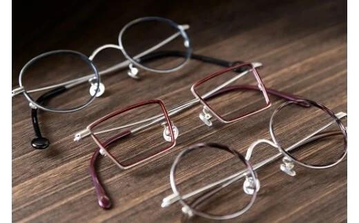 日本で唯一!?ハンドメイド眼鏡メタルフレーム引換券