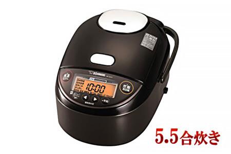 象印圧力IH炊飯ジャー「極め炊き」NPZU10-TD 5.5合炊き ダークブラウン イメージ