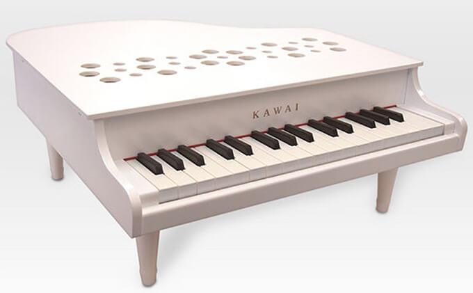 KAWAIミニグランドピアノP‐32ホワイト イメージ