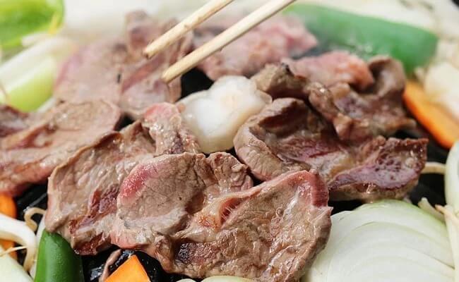 「遠野名物」じんぎすかん食べくらべセット(3~4人前)