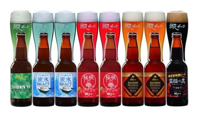 網走ビール彩り【8本】詰合セット(網走市内加工・製造) イメージ