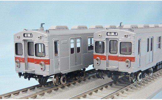 鉄道模型車両「東急7000系目蒲線」・線路セット カツミ イメージ