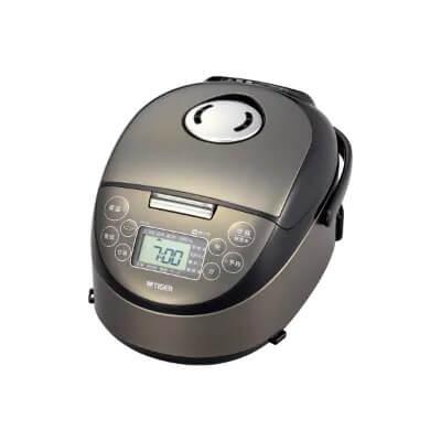 IHジャー炊飯器JPF-A550Wサテンブラック 3合炊き イメージ