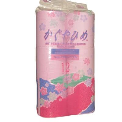 イレットペーパーSEMかぐや姫70m×96個(48個入×2ケース)