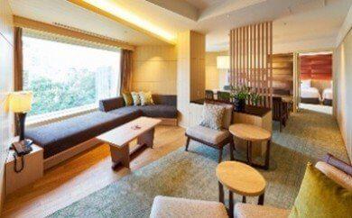 ホテル雅叙園東京 スイートルーム宿泊コースA