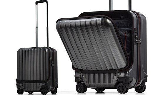 [AVANT]フロントオープン スーツケース 機内持ち込み対応サイズ S
