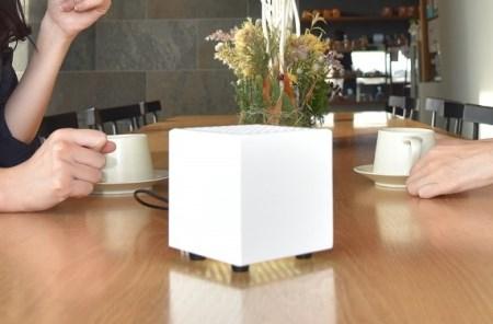 持ち運べる光触媒空気清浄機 フォトンクリーナー ホワイト