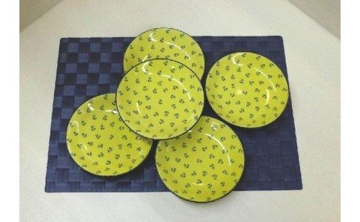 【波佐見焼】15cm皿5枚組 クレスポ 【西海陶器】