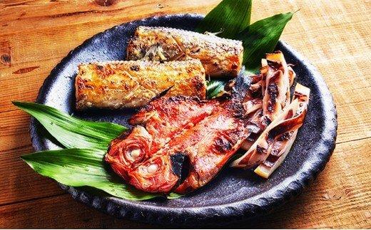 地魚の塩麹3種