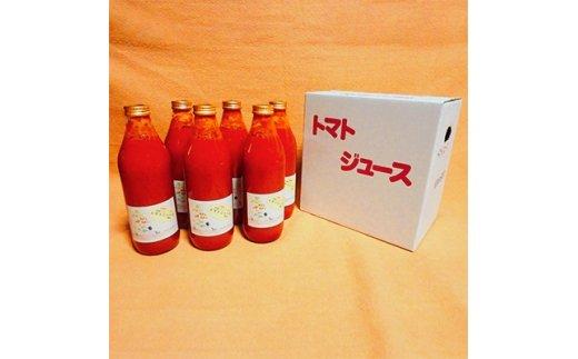 北海道安平町産トマト100%使用トマトジュース(無塩) 1000ml×6本