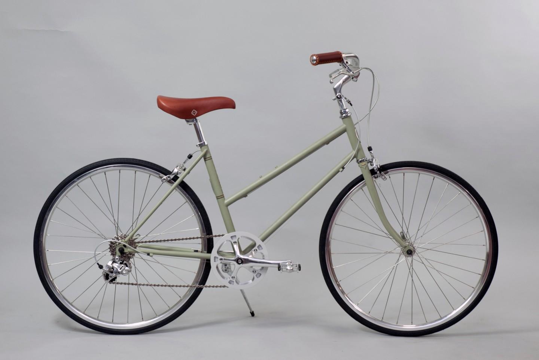 大阪府柏原市の返礼品自転車thePARKP65S マットグリーン