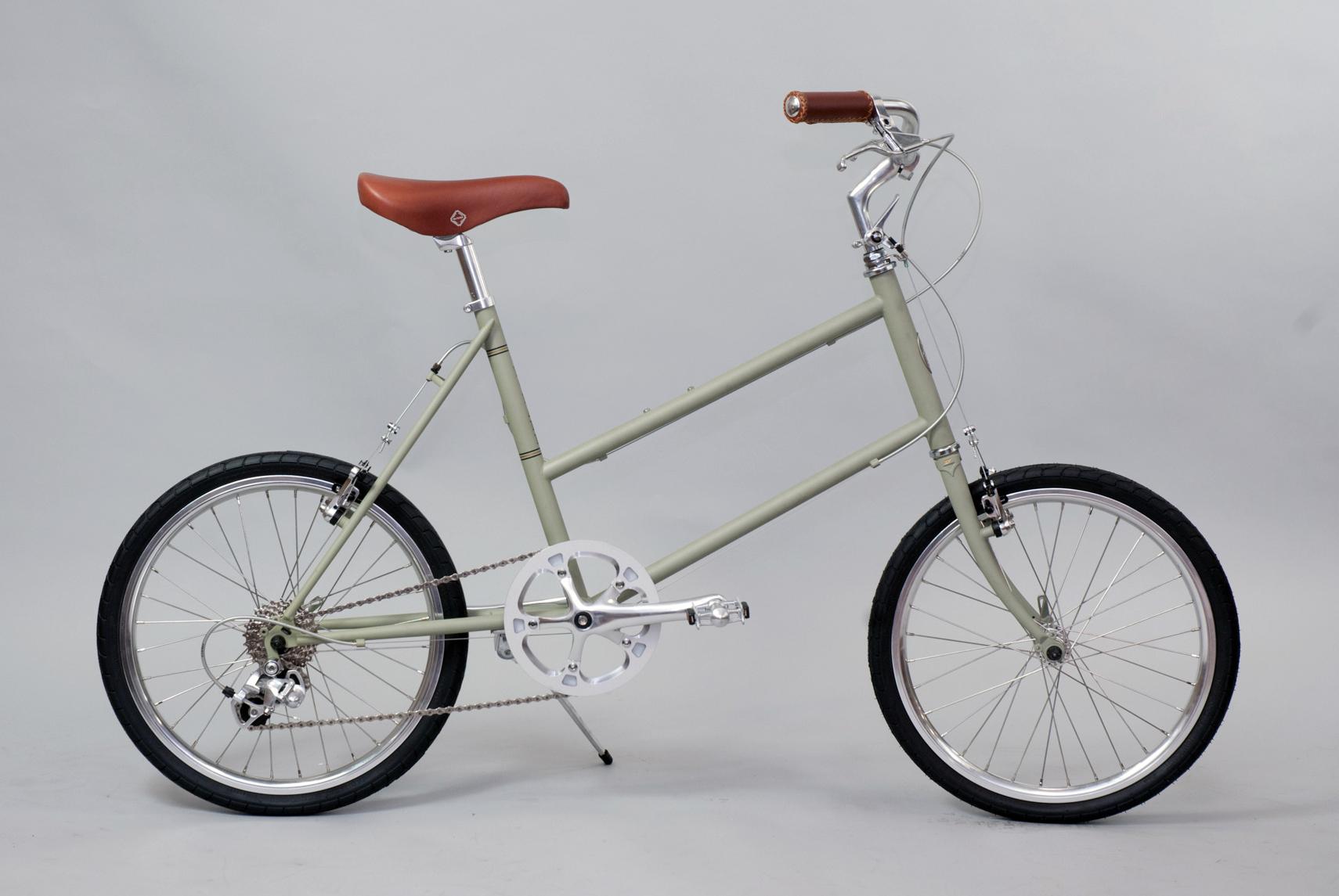 大阪府柏原市の返礼品自転車thePARKP20S マットグリーン