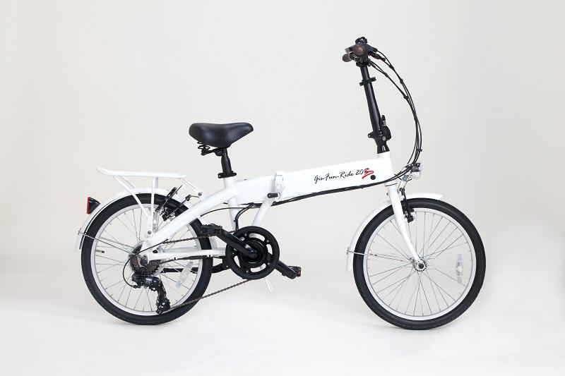 岐阜県 各務原市の電動アシスト自転車の返礼品ホワイト