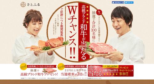 さとふるの肉ランキング