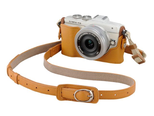 長野県伊那市のふるさと納税お礼品 オリンパスカメラ 本革ボディジャケット
