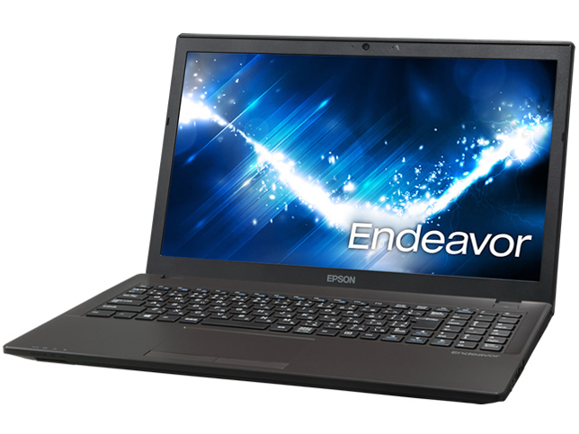 長野県 喬木村の返礼品 エプソン Endeavor 15.6型ノートパソコン