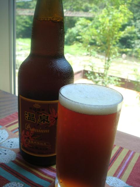 塩原温泉プレミアムビールの返礼品