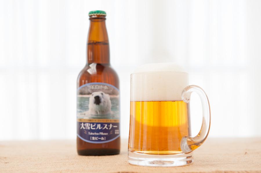 大雪地ビール麦の畑セットの返礼品