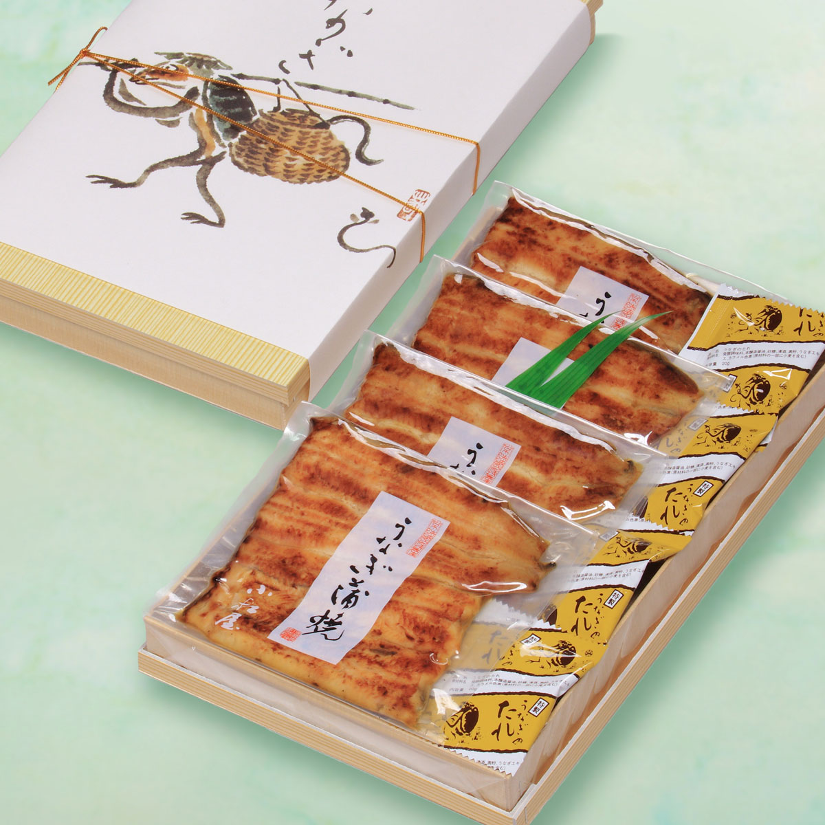 茨城県土浦市のうなぎの返礼品 箱詰め