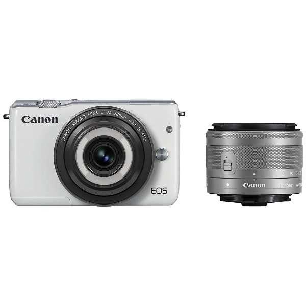 ミラーレスカメラ EOS M10 レンズキット