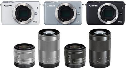 ミラーレスカメラ EOS M10 ダブルズームキット