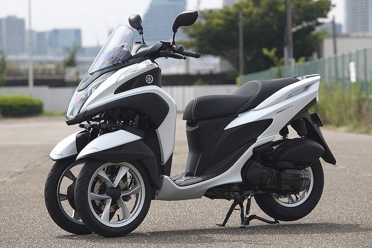 YAMAHA TRICITY(トリシティ—)125CCバイク